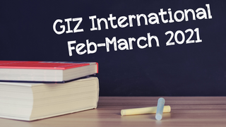 GIZ International | Feb-April 2021